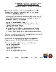 dps mathura road holiday homework class 5 2014