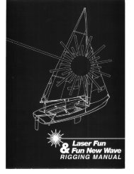 Fun New Wave RIGGING MANUAL - Laser Centre Switzerland