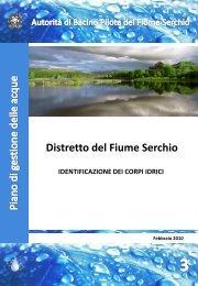 Identificazione dei corpi idrici - Autorità di Bacino del fiume Serchio