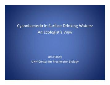 Cyanobacteria in Surface Drinking Waters: An ... - NEIWPCC