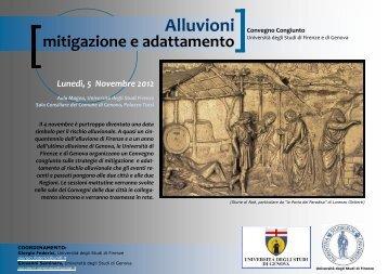 Programma - Autorità di Bacino del Fiume Arno