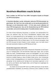 Nordrhein-Westfalen macht Schule, neuer Leitfaden zu ...