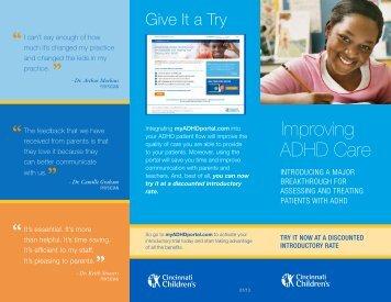 Download Our Informational Brochure - myADHDportal.com