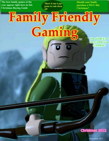 Christmas Buying Guide 2012 in PDF Format - Family Friendly Gaming