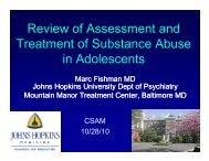 Review of Assessment and Review of Assessment and Treatment of ...