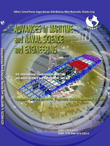 ADVANCES in MARITIME and - Wseas.us