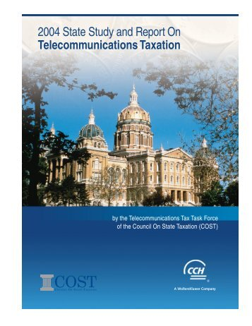 2004 State Study and Report On Telecommunications Taxation