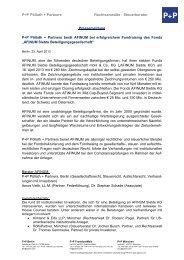 Pressemeldung - P+P Pöllath + Partners