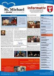Informativ August 2010 - Wirtschaft St. Michael
