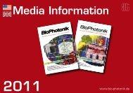 Media Information BioPhotonik_2011 - english.pdf - AT-Fachverlag ...