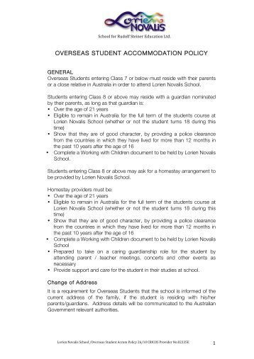 students accommodation policy 2214 student accommodation policy this policy applies to all planning permit applications for student accommodation in the city of whitehorse.
