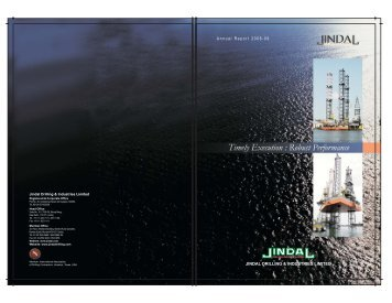 Annual Report 2008-09 - Jindal Group of Companies