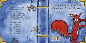 Büchereiführer für Kinder - Stadtbücherei Lauf