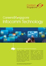Download industry factsheet - Contact Singapore