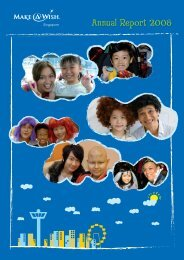 Annual Report 2008 - Make-A-Wish Foundation