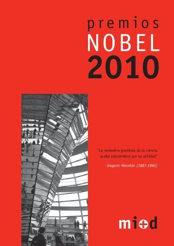 Premio Nobel 2010 - Madri+d
