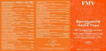 associazioni affiliate alla FMY - Federazione Mediterranea Yoga