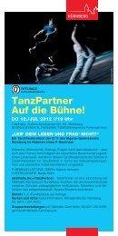 tanzPartner auf die bühne! - bundesverband tanz in schulen