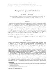 An eigenerosion approach to brittle fracture - Solid Mechanics Home ...