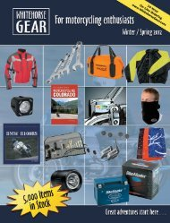 Touring Jackets & Overpants - Whitehorse Gear