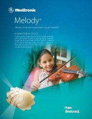 Download Melody TPV Product Brochure - Medtronic