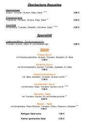 Speisekarte und Getränkekarte Stand 26.05.2013.2013 - Bistro ...