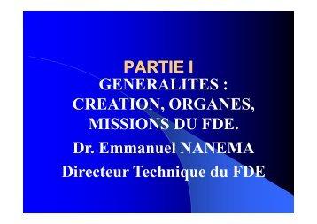 Le FDE au Burkina Faso - RIAED