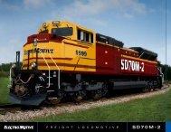 SD70M-2 - Progress Rail Services