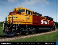 SD70M-2 - Progress Rail Services