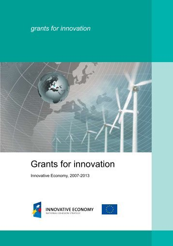 Grants for innovation - Fundusze Strukturalne