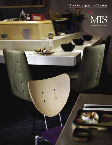 The Contemporary Collection - MTS Seating