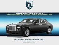 ARMORED ROLLS ROYCE PHANTOM - Alpine Armoring Inc.