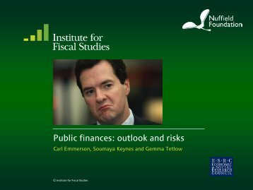 pdf only version - The Institute For Fiscal Studies