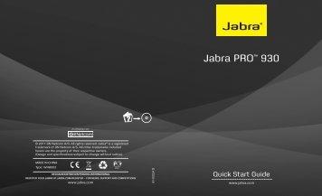 Jabra PRO™ 930 - VoIP Talk