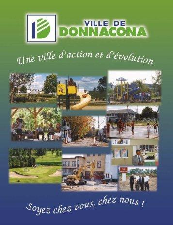Volume 2, Numéro 10, Novembre 2004 - Ville de Donnacona
