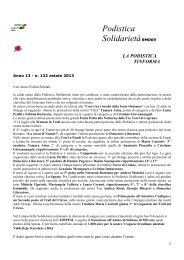 Tiinforma Estate 2013 - Podistica Solidarietà