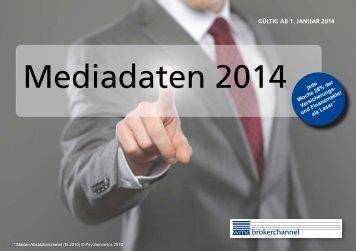 Mediadaten 2014 jede - WMD Brokerchannel