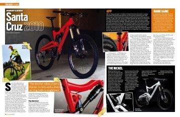 the Nickel Name game aPP - Santa Cruz Bikes