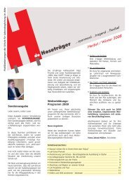 Ausgabe 8 Herbst Winter 2008.pub - Über uns