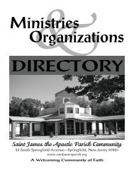 Ministries & Organizations Directory 2008 - Saint James the Apostle ...