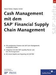 Cash Management mit demSAP Financial Supply Chain ... - SAP-Hefte