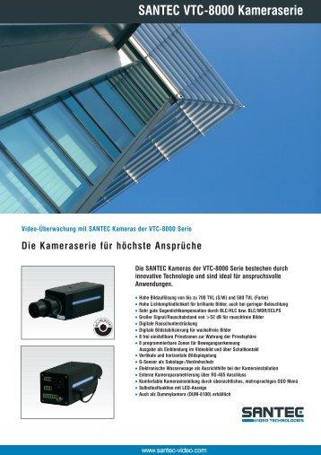 SANTEC VTC-8000 Kameraserie - santec-video.de