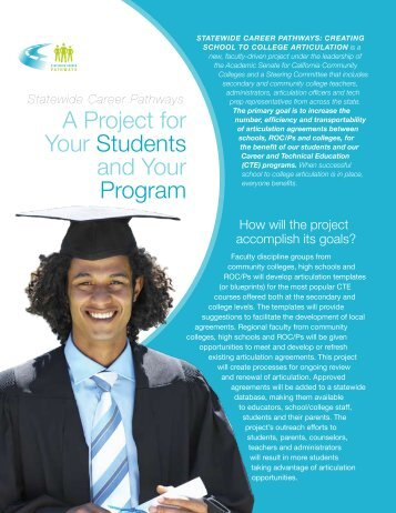 A Project for Your Students and Your Program - Statewide Career ...