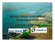Aanleg baggerspeciedepot Hollandsch Diep Hollandsch Diep