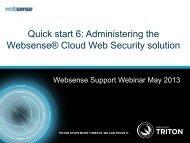 Websense Public Template 2013 - 4x3