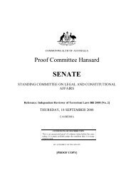 SENATE - Crescents of Brisbane