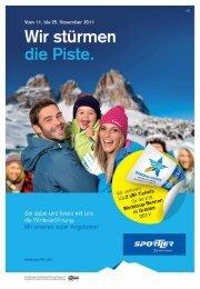 (gültig vom 11. bis 25. November 2011) Skiservice Comfort - Saslong