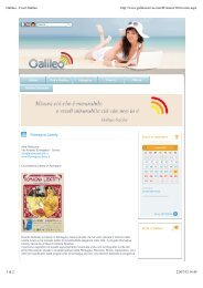 Galileo - Cos'è Galileo - Andrea Speziali