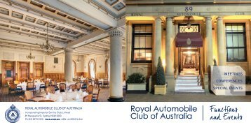 Click Here to Download - Royal Automobile Club of Australia