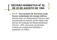Parques de Diversão – Luiz Cosenza-CREA-RJ